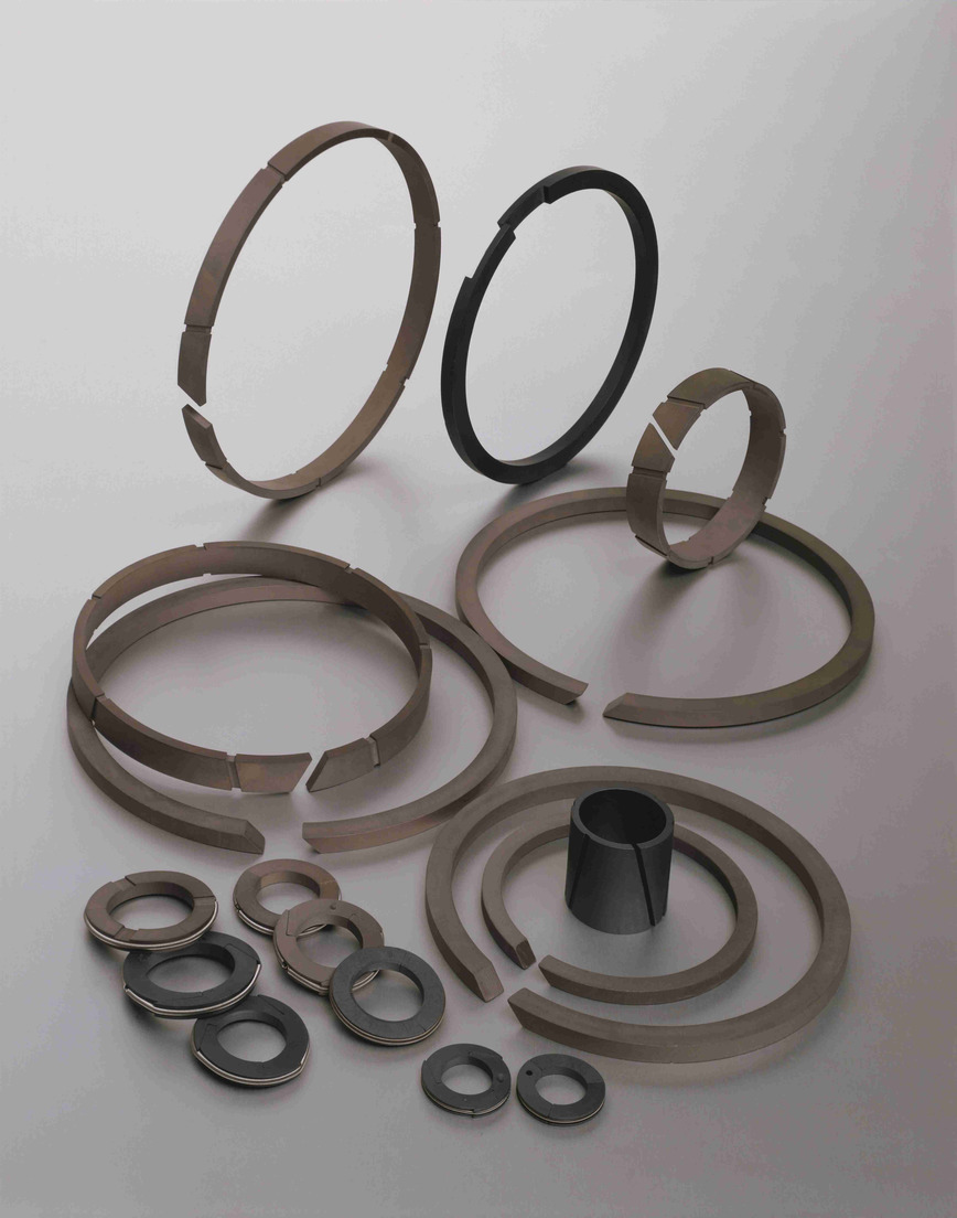 Logo PTFE and HPP compressors seals and bearings