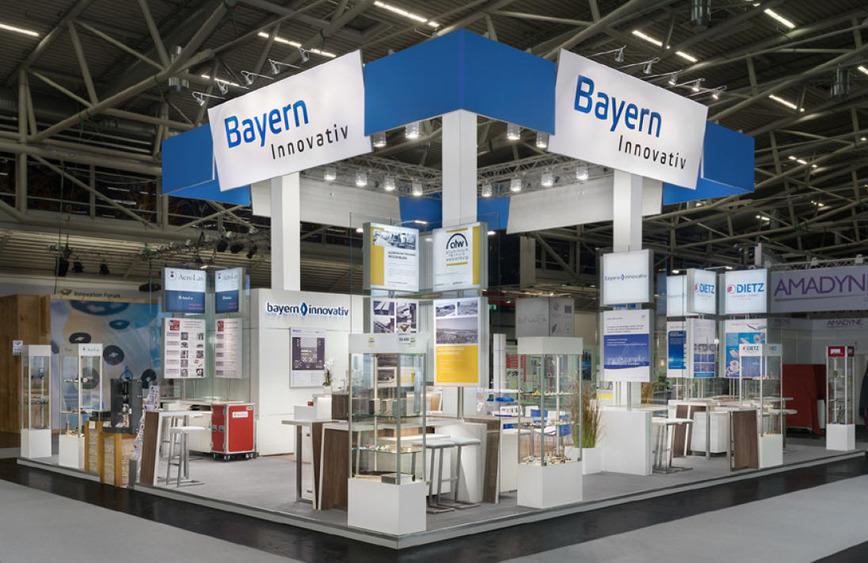 Logo Gemeinschaftsstand Bayern Innovativ 2016