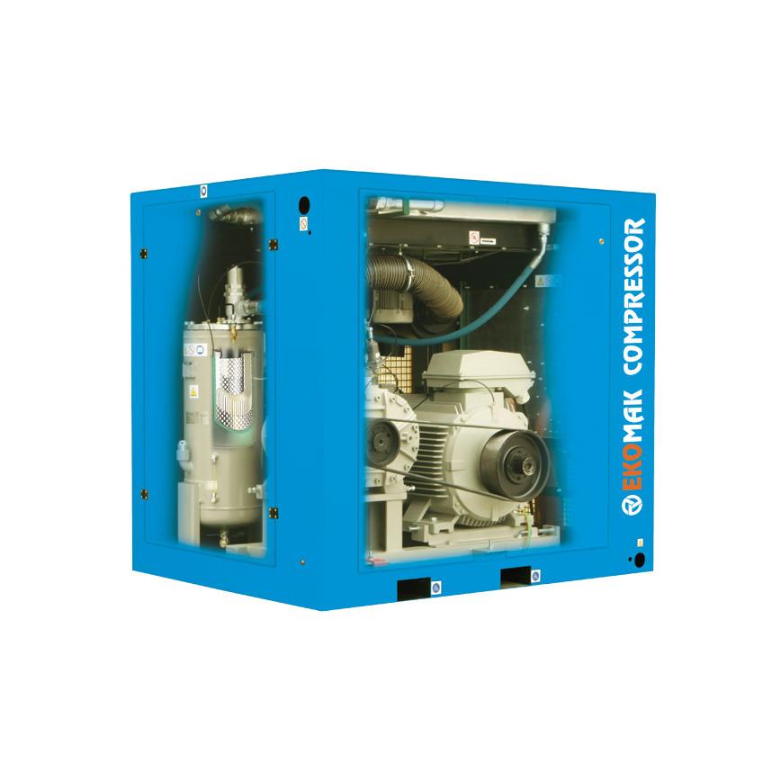 Logo EKO Serie - Hocheffiziente POLY-V Belt getriebene Schraubenkompressore
