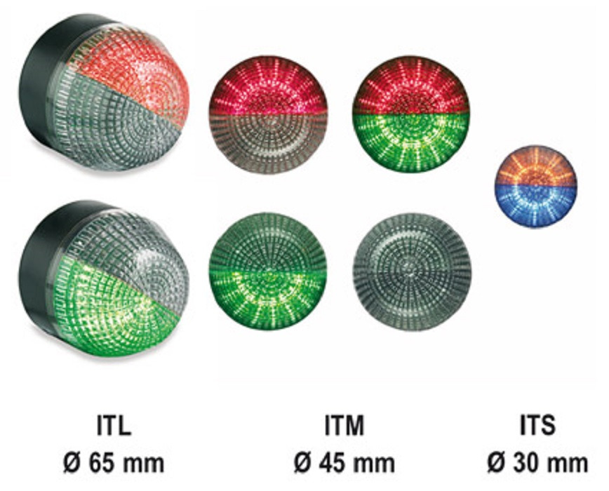 "Logo M22 panel mount beacons ""I"""