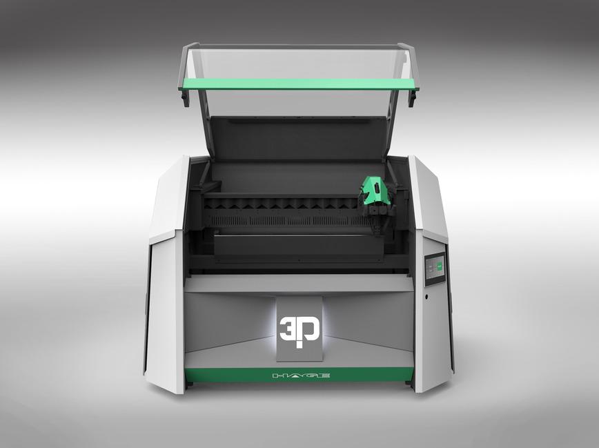 Logo HAGE3D - Industrielle 3D-Drucksysteme