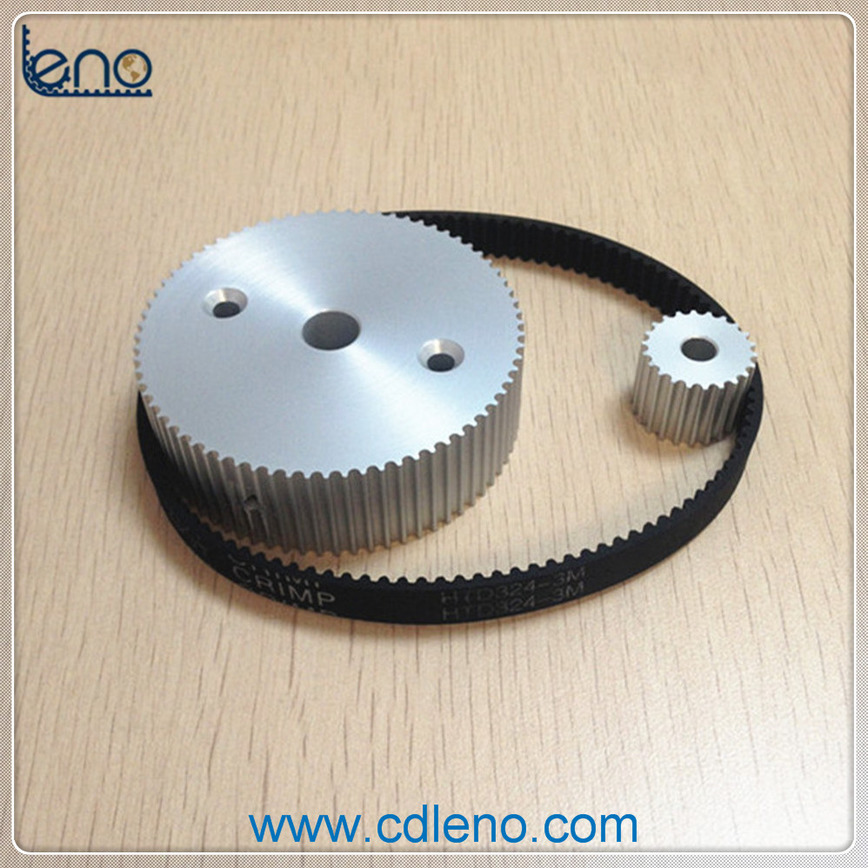 Logo Customized HTD3M Pulleys and Timing Belt