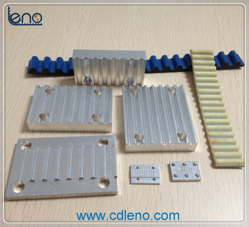 Logo Clamping Plates and Belts
