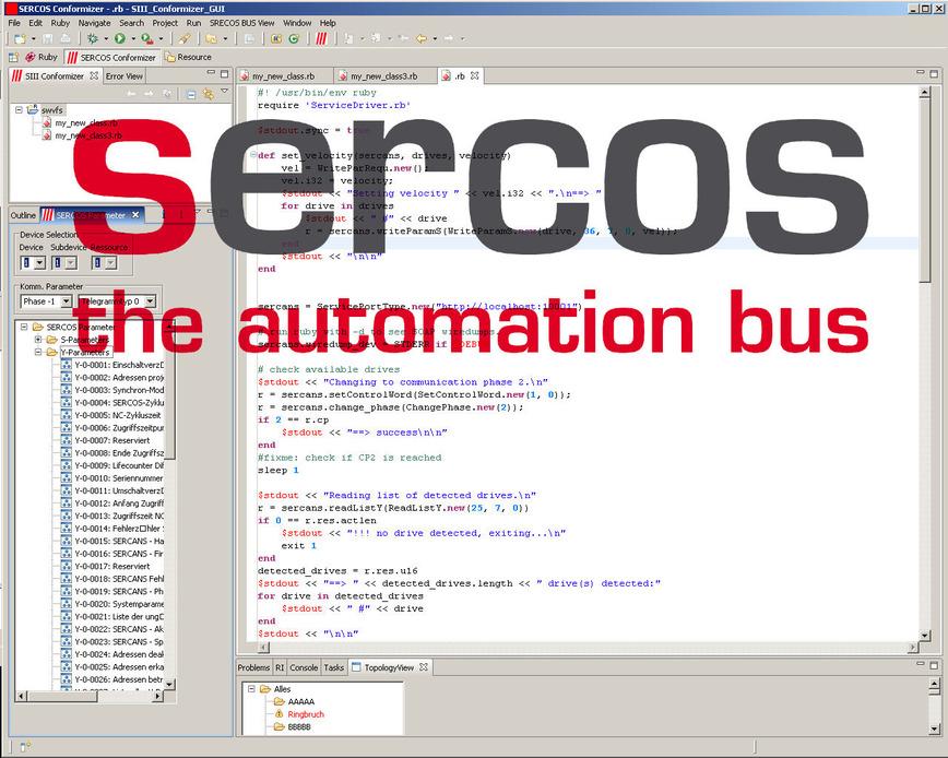 Logo Sercos® Conformizer