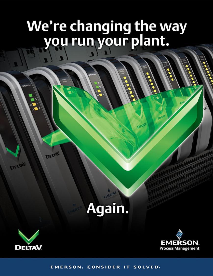 Logo DeltaV - Das digitale Automatisierungssystem