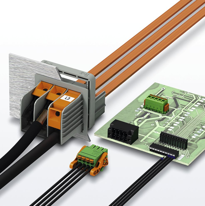 Logo Leiterplattenklemmen und -Steckverbinder