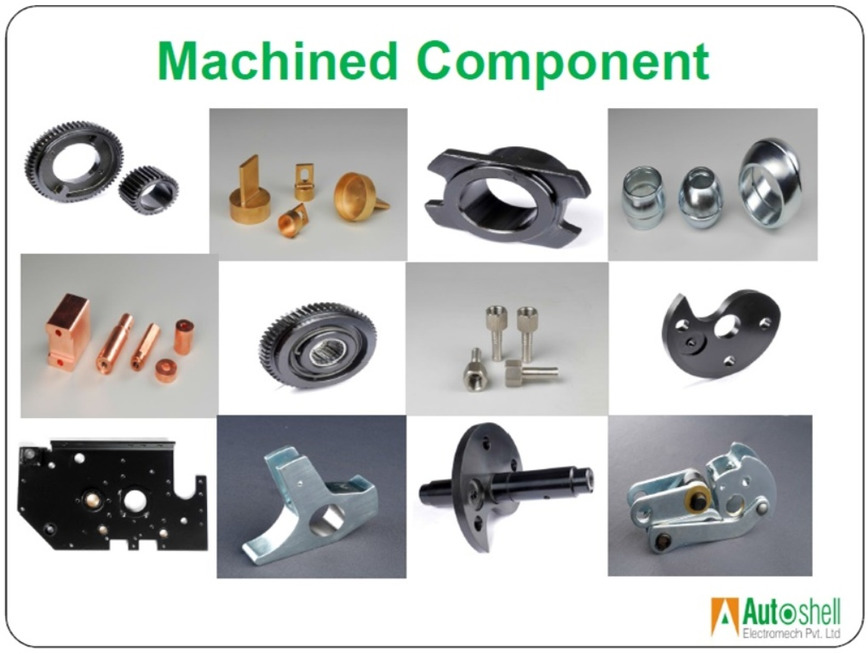 Logo Precision Machined Components