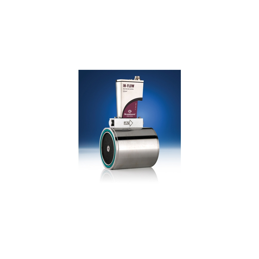 Logo Industrial Mass Flow Meters/Controlers for gases