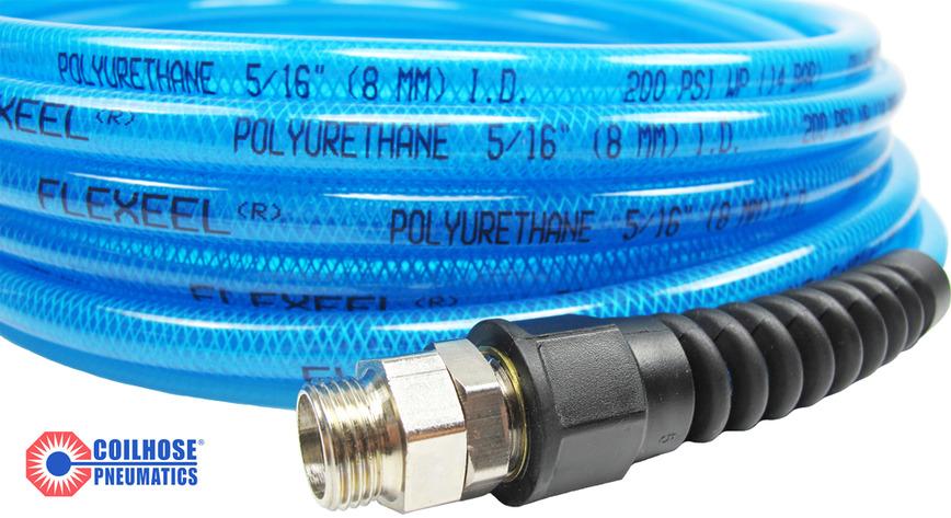 Logo Coilhose Reinforced Polyurethane Air Hose - Flexeel® / Flexeel Max®