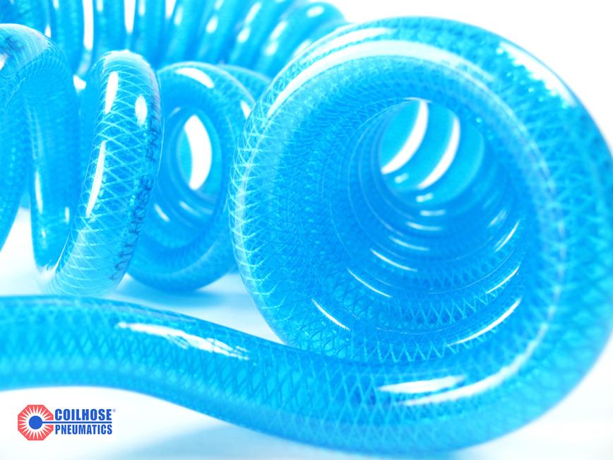 Logo Coilhose Coiled Recoil Air Hose - PU and PA