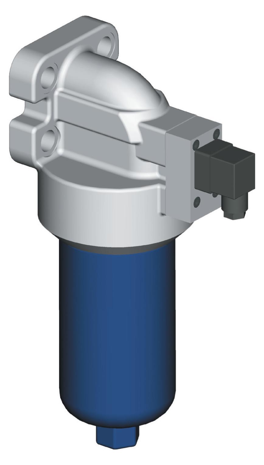 Logo Hochdruck Flanschmontage Filtern