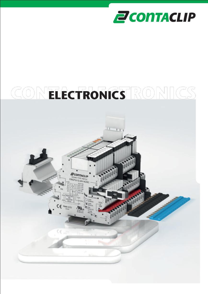 Logo CONTA-ELECTRONICS Catalogue