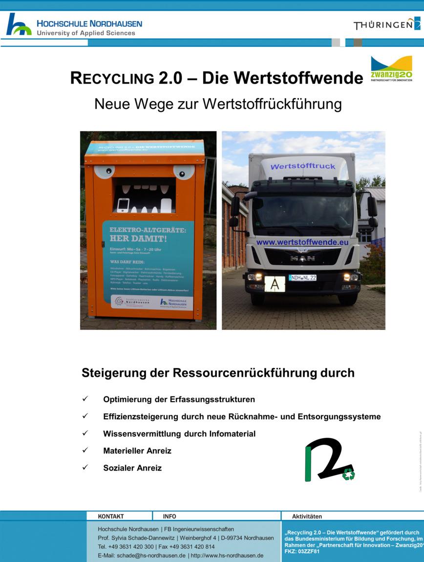 Logo Recycling 2.0-Die Wertstoffwende-Forum