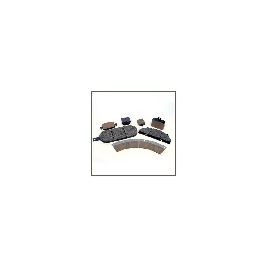 Logo Bremsbelag, Bremsbeläge für Sattelbremse, Sattelbremsen, Yaw brake