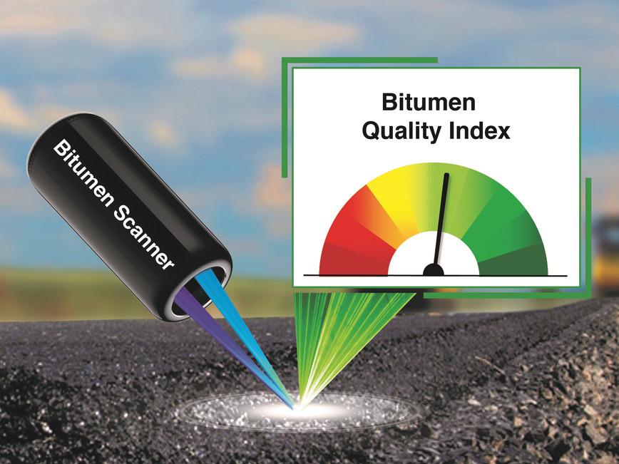 Logo Scanner zur Qualitätskontrolle von Bitum
