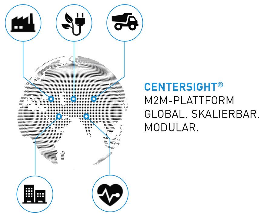 Logo CENTERSIGHT® - Die IoT-Plattform
