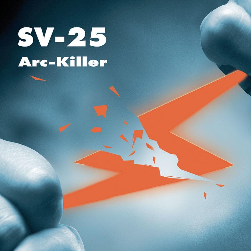 Logo SV-25 - Lichtbogenbegrenzer