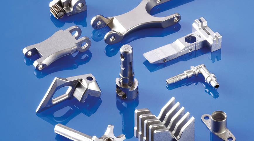 Logo Complex Metal Parts