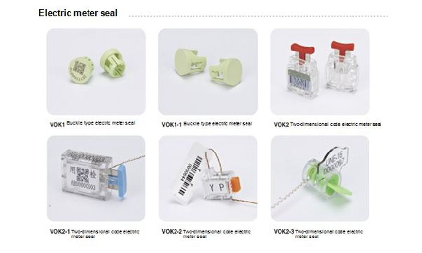 Logo Electric Meter Seal