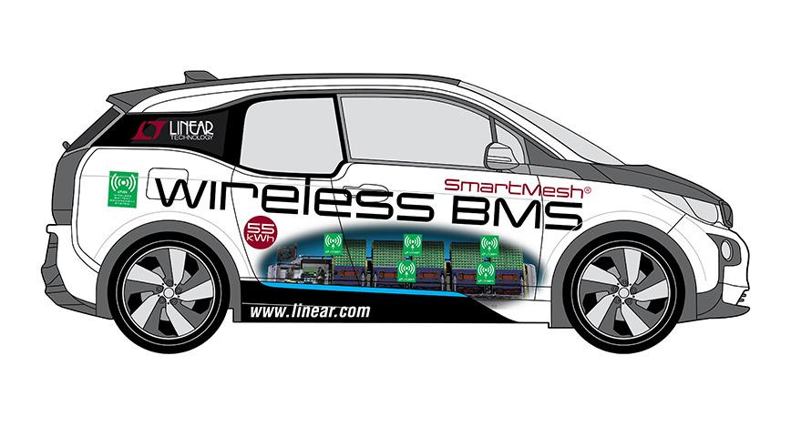 Logo Wireless BMS Konzeptfahrzeug - BMW i3