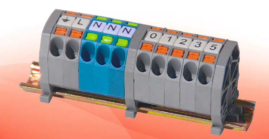 Logo MPK SPRING TYPE MINI TERMINAL BLOCKS (PUSH-IN TECHNOLOGY)