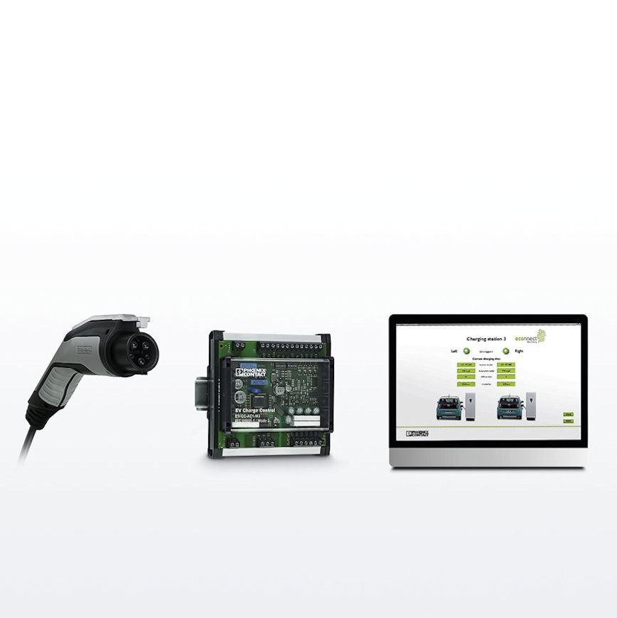 Logo Charging technology for E-Mobility
