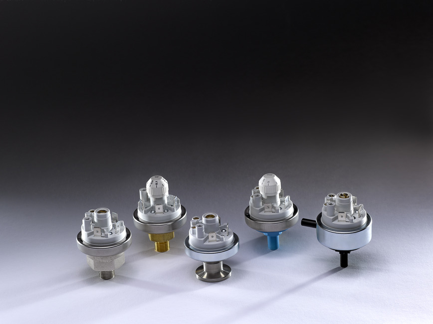 Logo Pressure Switches 901 with ATEX factory-set to customer request