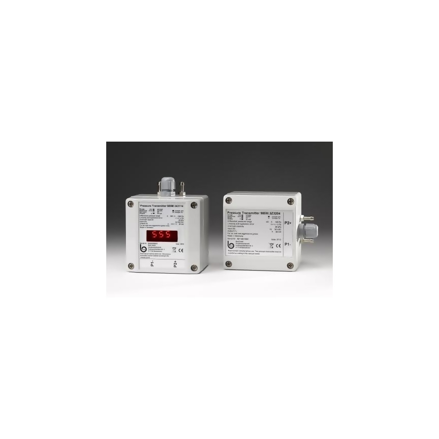 Logo Differential Pressure Transmitter 985M with IP65 for low Air Pressures