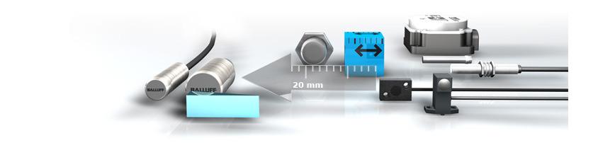 Logo Inductive distance sensors