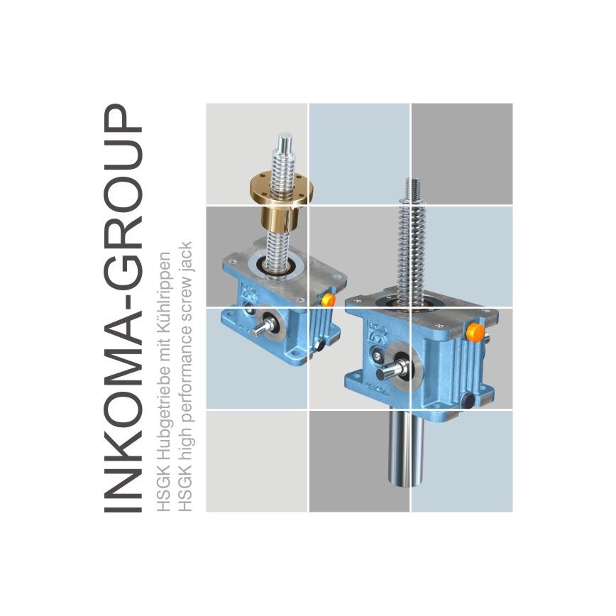 Logo INKOMA - HSGK Hubgetriebe mit Kühlrippen