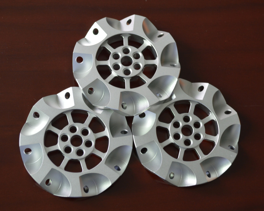 Logo 5-axis CNC machined parts for Robot