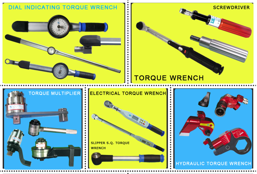 Logo Torque Wrench and Torque Wrench Tester