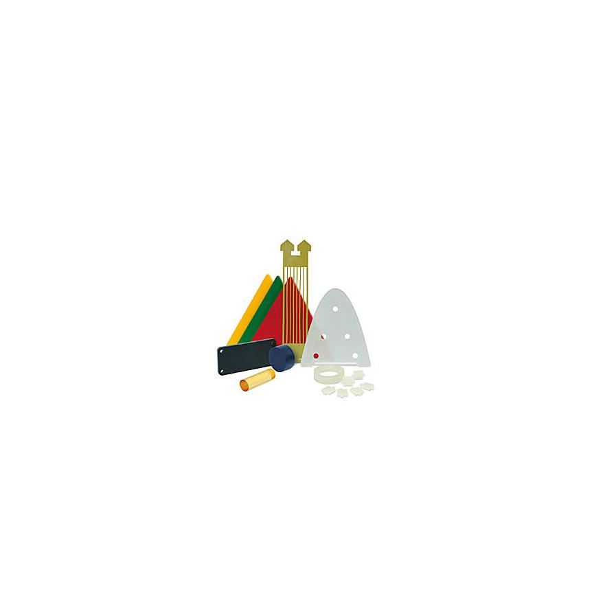 Logo Stäbe-Streifen-Platten