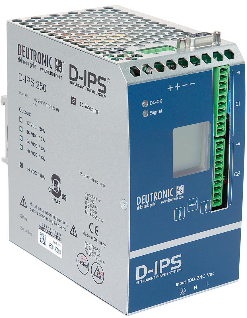 Logo D-IPS Deutonic Intelligent Power Supply
