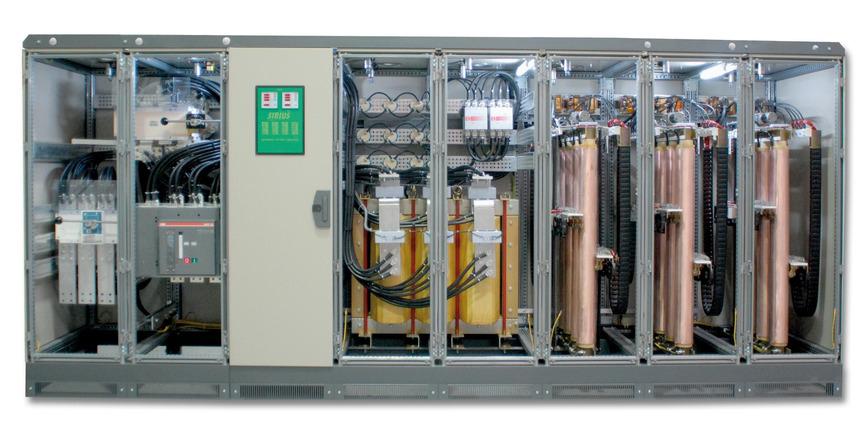 Logo Spannungskonstanthalter bis 6000 kVA