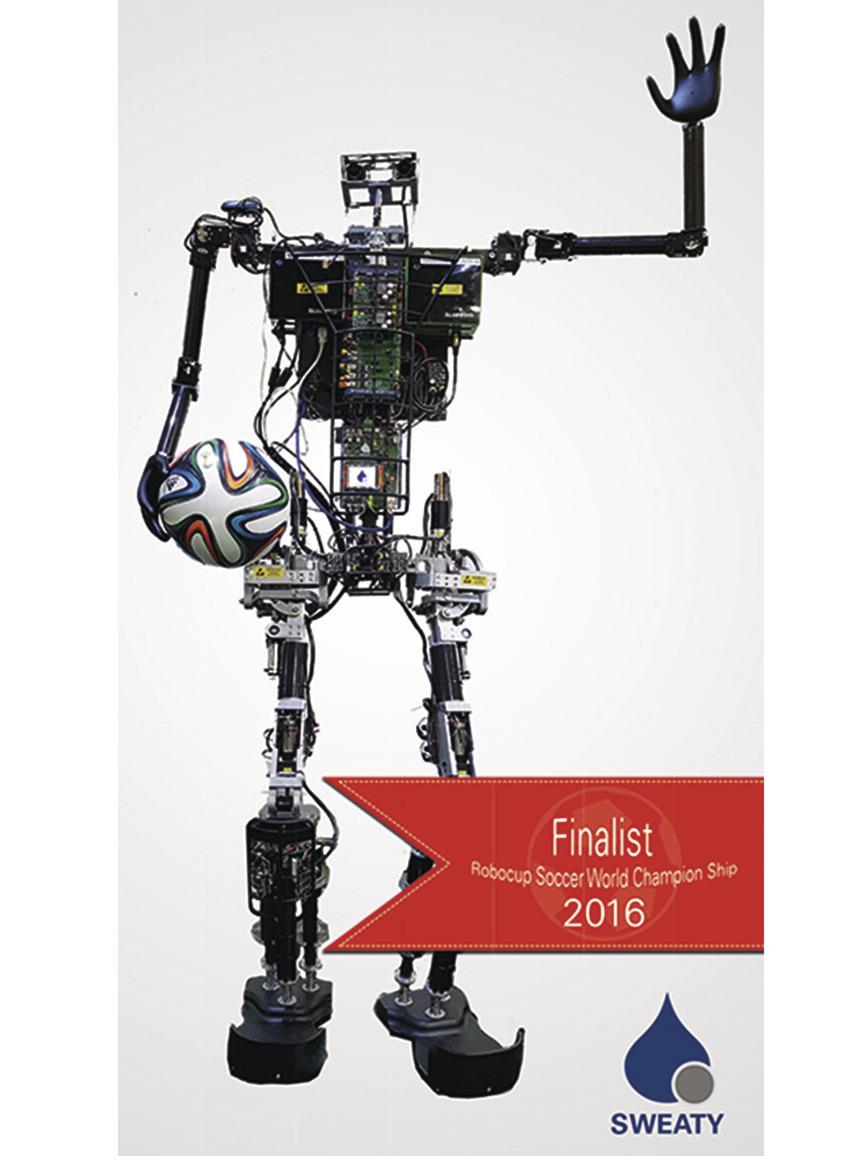 Logo Humanoide Roboter SWEATY