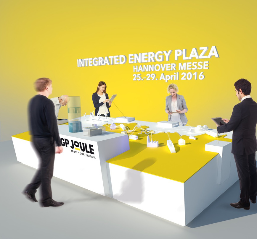 Logo Integrated Energy Showcase by GP Joule