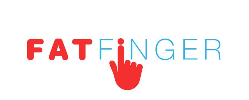 Logo FAT FINGER - Form apps in seconds.