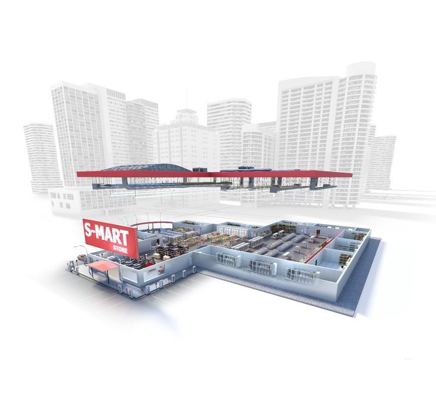 Logo Danfoss Smart Store Concept