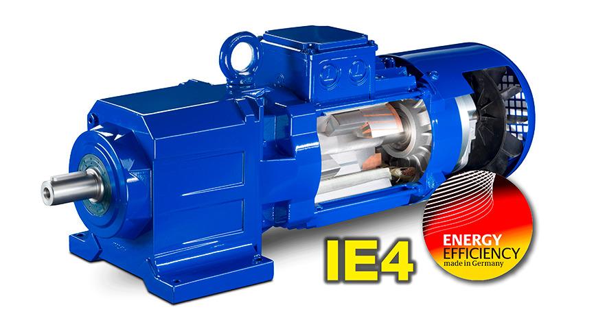 Logo Permanent Magnet Geared Motors IE4
