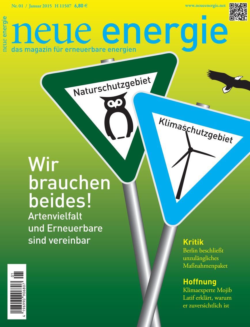 Logo neue energie / new energy