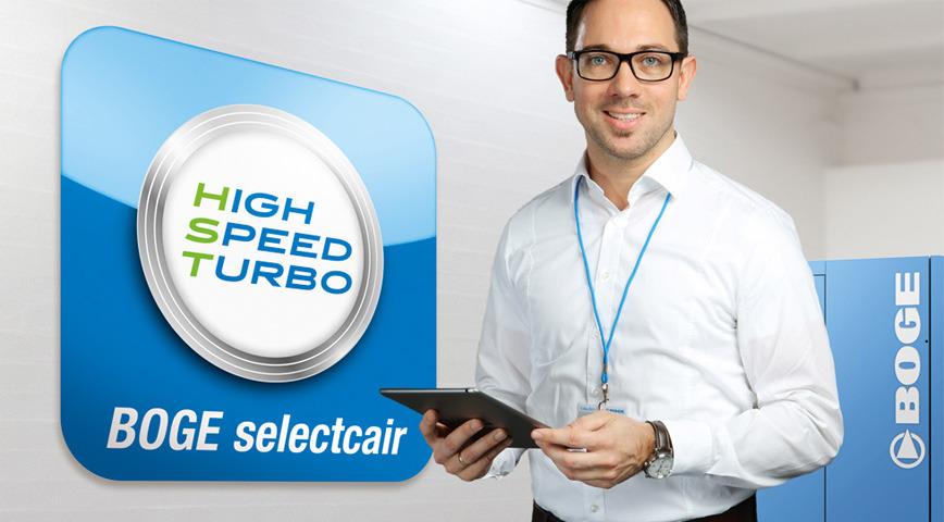 Logo Service revolution: BOGE selectcair