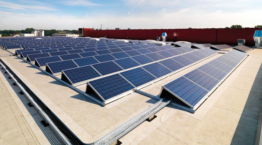 Logo Gewerbliche Dach-Solarlösung roofINVEST