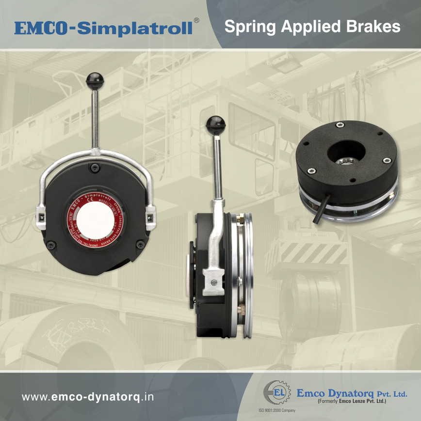 Logo EMCO-SIMPLATROLL SPRING APPLIED BRAKES TYPE 14.458