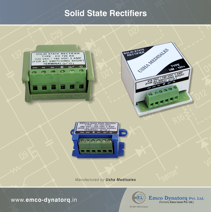 Logo SOLID STATE ELECTRONICS RECTIFIERS