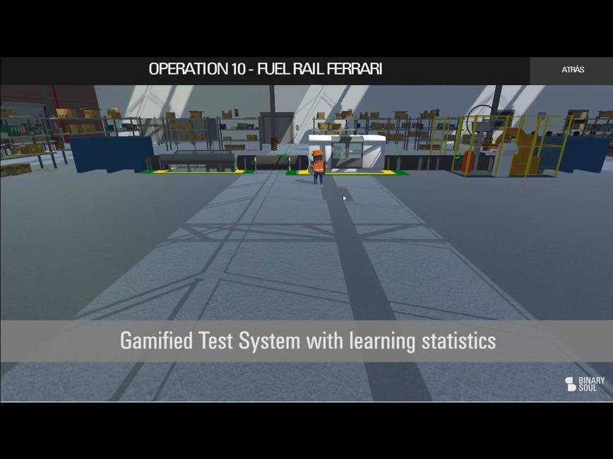 Logo GTS, Gamified Training System