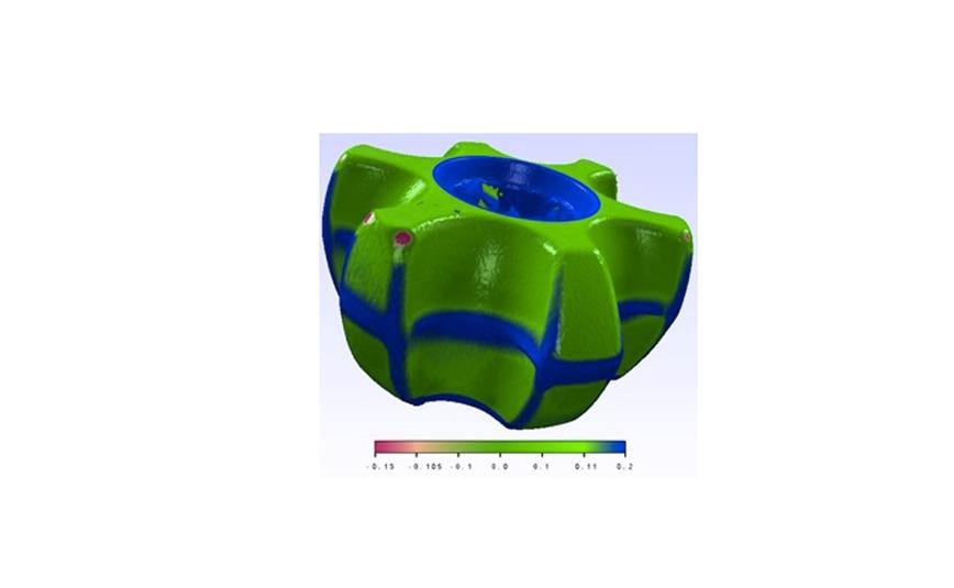 Logo Inspection through 3D reconstruction