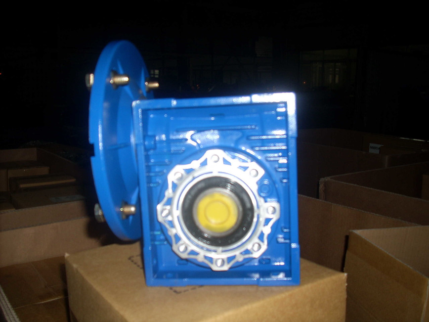 Logo Alu. casing worm gearbox