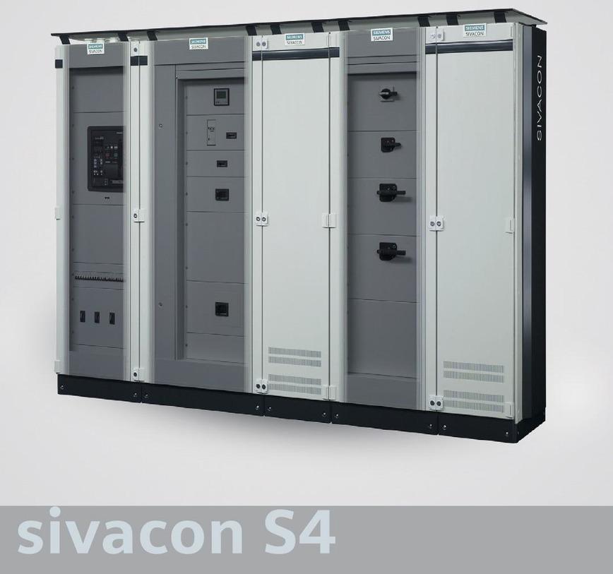 Logo LV switchgears type: SIVACON S4