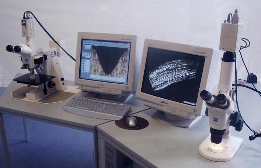 Logo Lichtmikroskopische Untersuchungen
